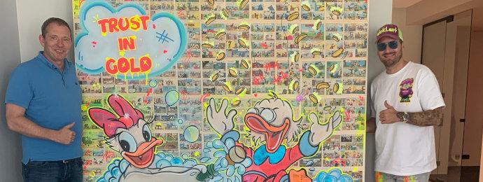 NTG24 - Pop-Art-Künstler Dennis Klapschus begeistert mit seinen farbenfrohen Kombinationen aus Comic und Traum
