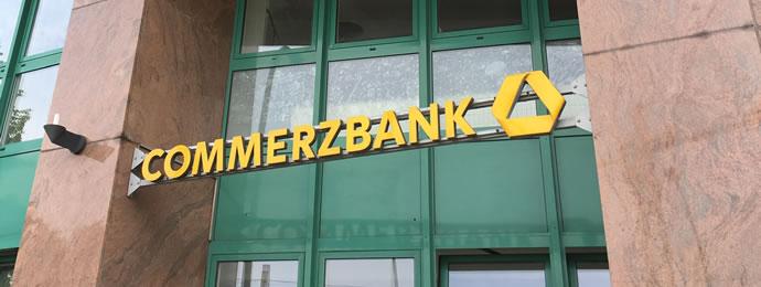 Eingang Commerzbank Filiale