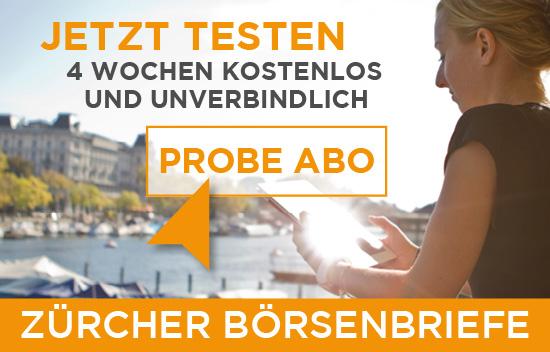 Werbebanner Zürcher Börsenbriefe